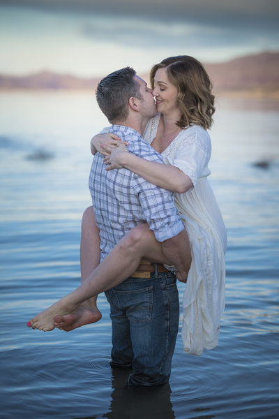 Las Vegas Couple Photography- Lake Mead