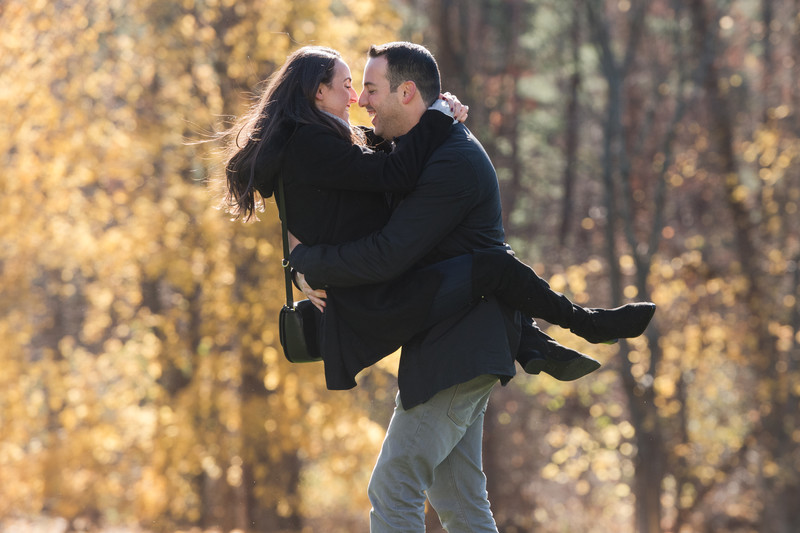 Fall Berkshire Engagement Photographer