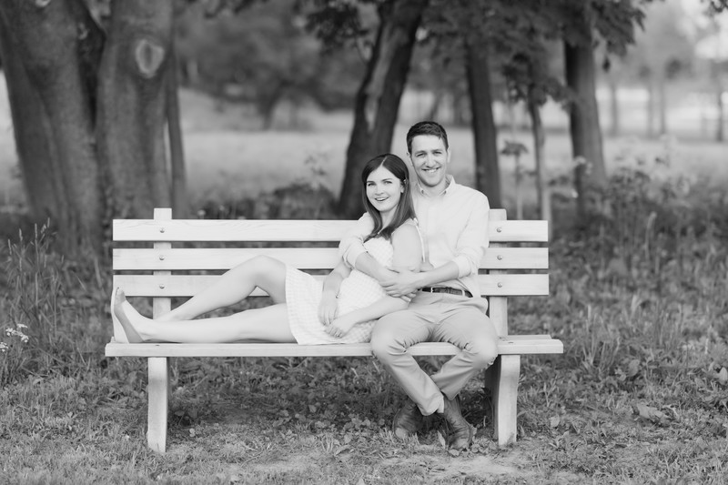 Lenox Couple Engagement Portraits