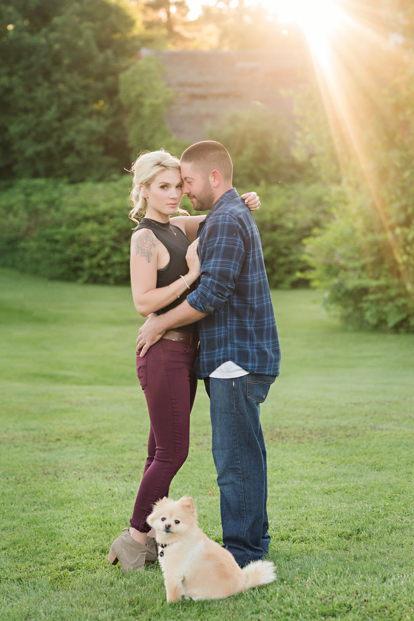 Lenox Engagement Photography