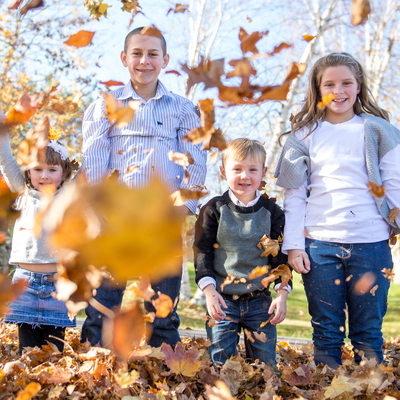 Berkshires Fall Family Photography