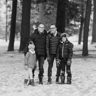 Best Winter Family Photography