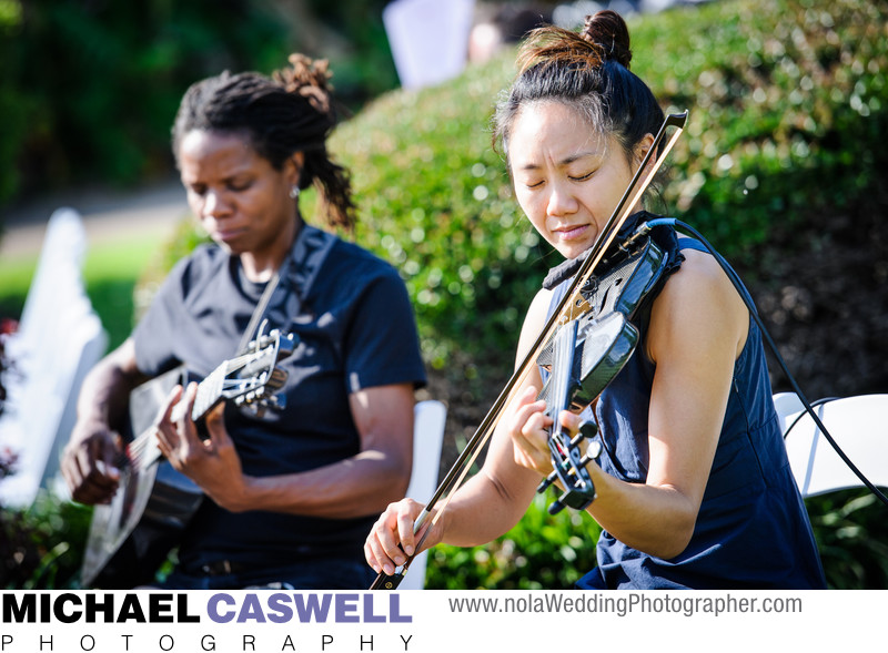 Tanya and Dorise perform in Jackson Square