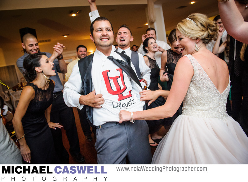 University of Louisiana Lafayette Groom