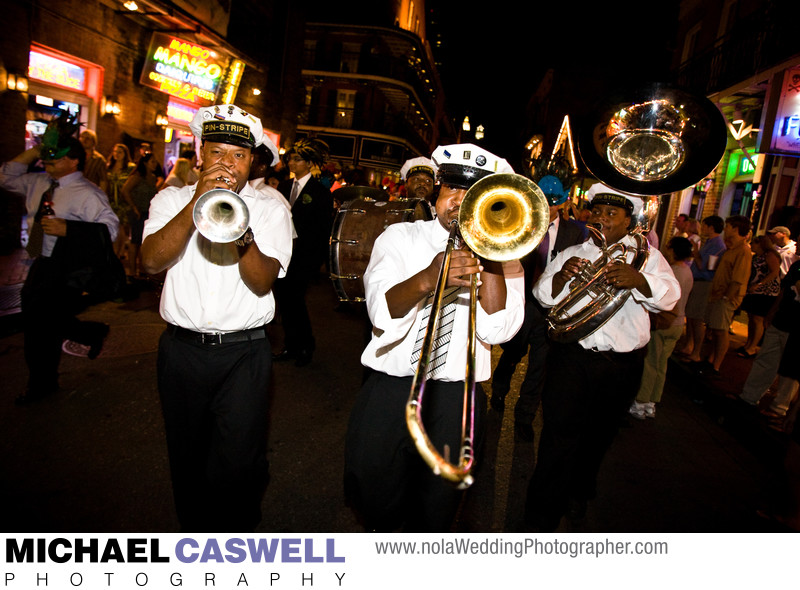 Pin-Stripe Brass Band Second Line