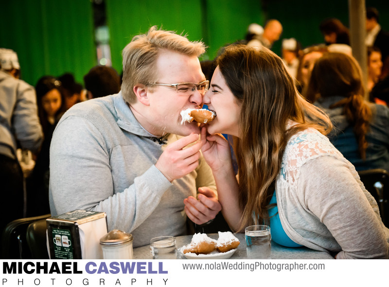 Cafe du Monde Engagement Portrait
