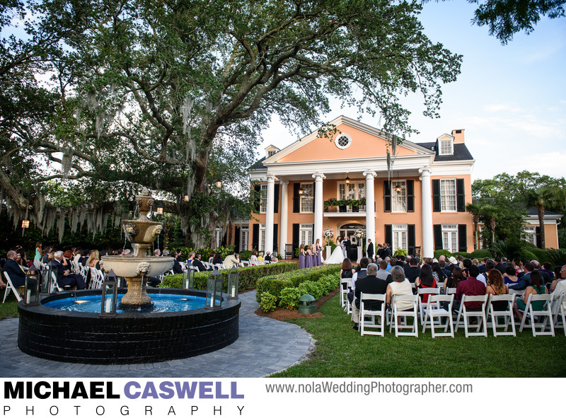 Southern Oaks Daytime Wedding Ceremony