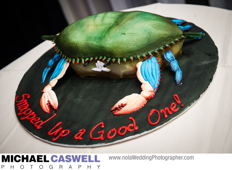 Crab Groom's Cake