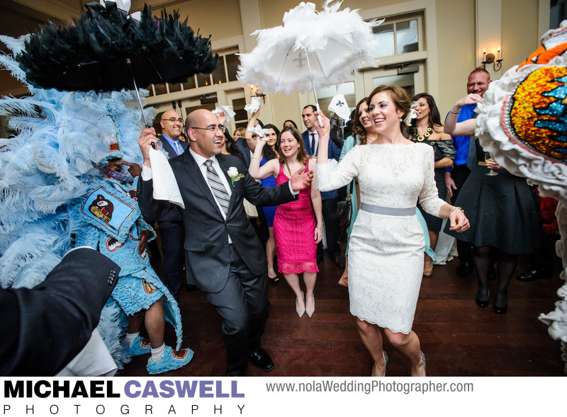 Audubon Park Golf Clubhouse Wedding Reception