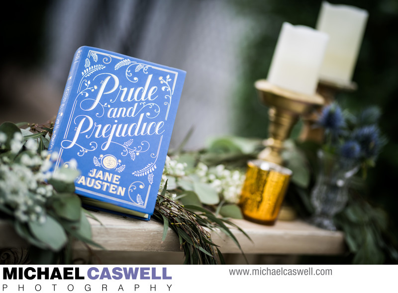 Pride and Prejudice Wedding Decor