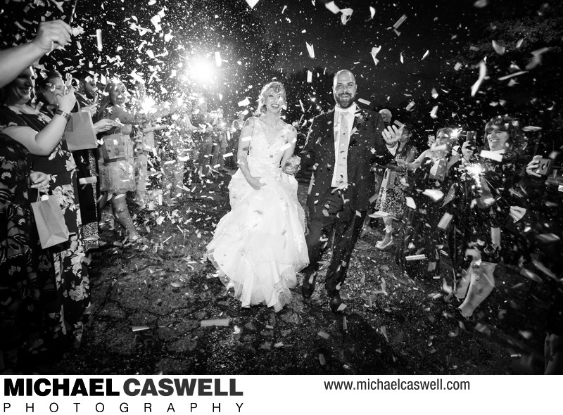 Confetti Wedding Send-Off