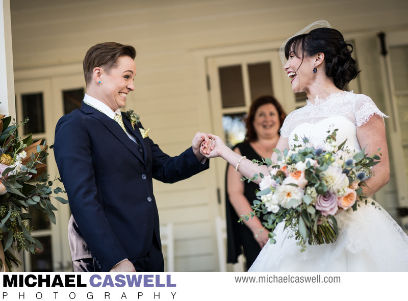 Lang House Wedding Ceremony in Mandeville
