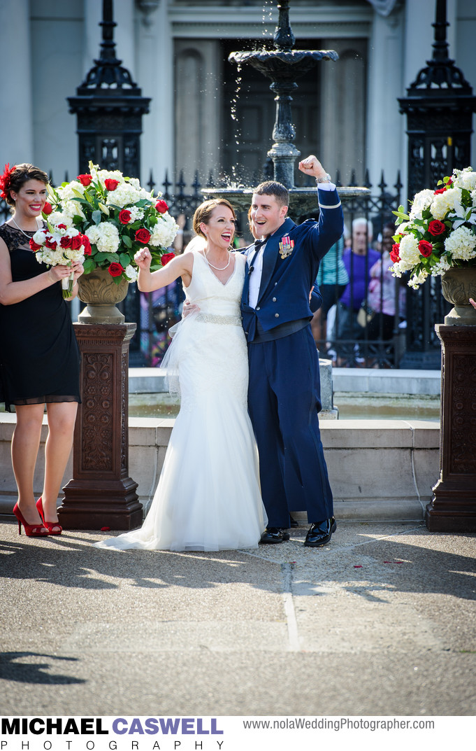 Jackson Square Wedding Ceremony