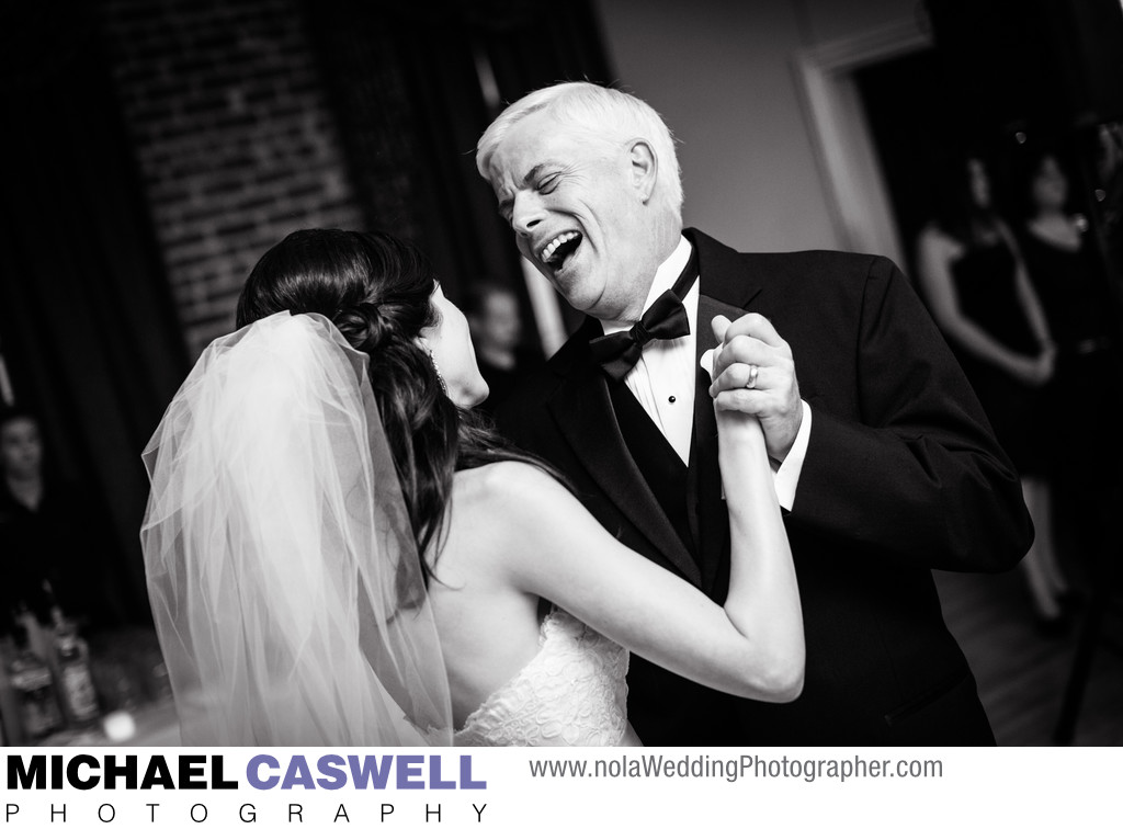 Bride and Father Dance at Muriels