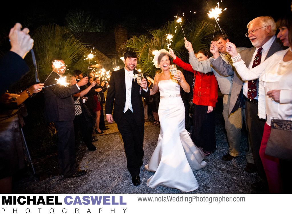 Sparkler Departure from Palmettos in Slidell