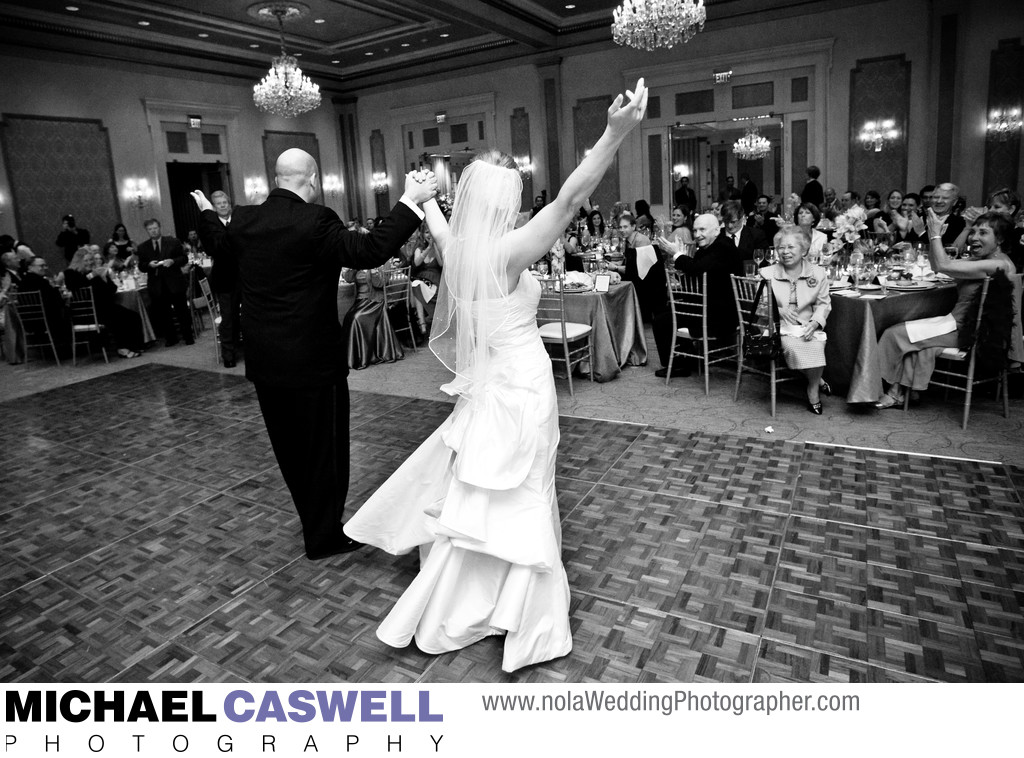 Royal Sonesta New Orleans Wedding Reception