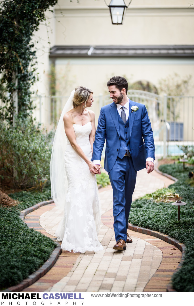 Southern Hotel Wedding in Covington Louisiana
