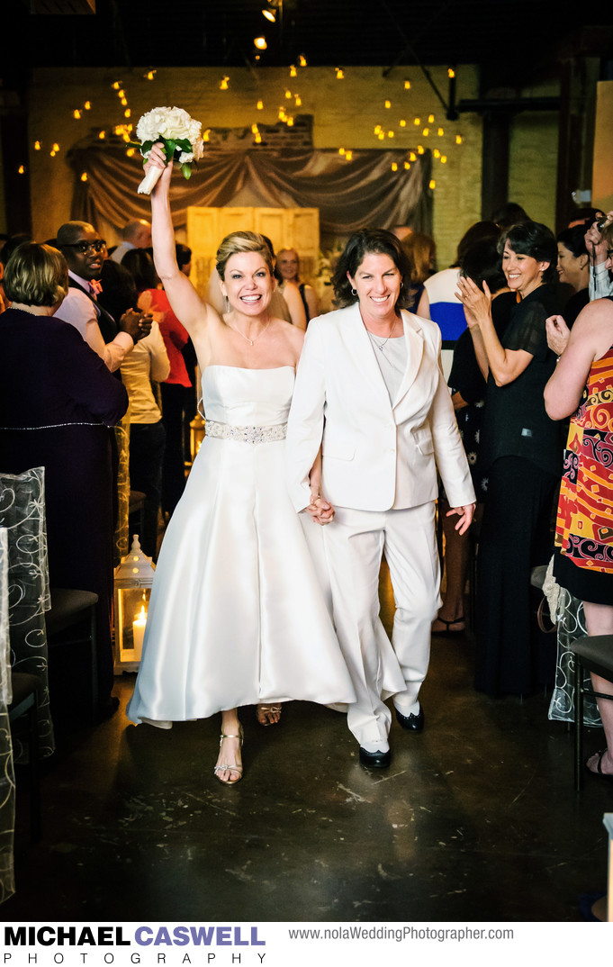 Same Sex Wedding in New Orleans