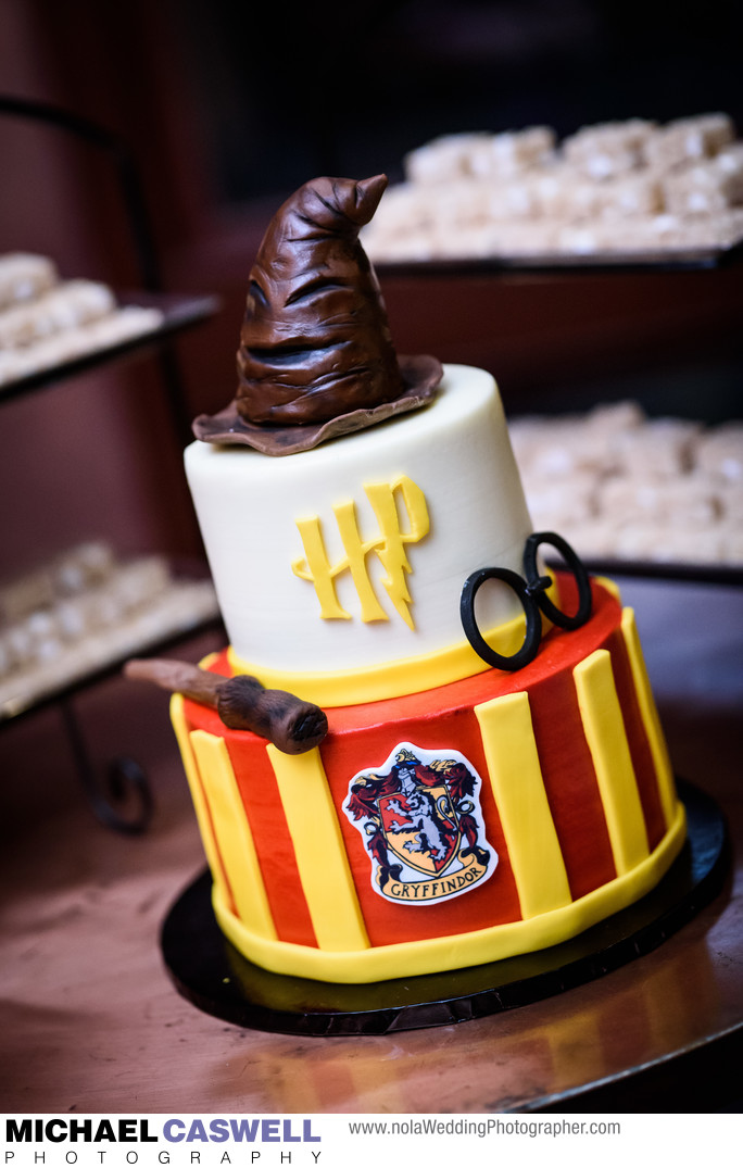Harry Potter groom's cake