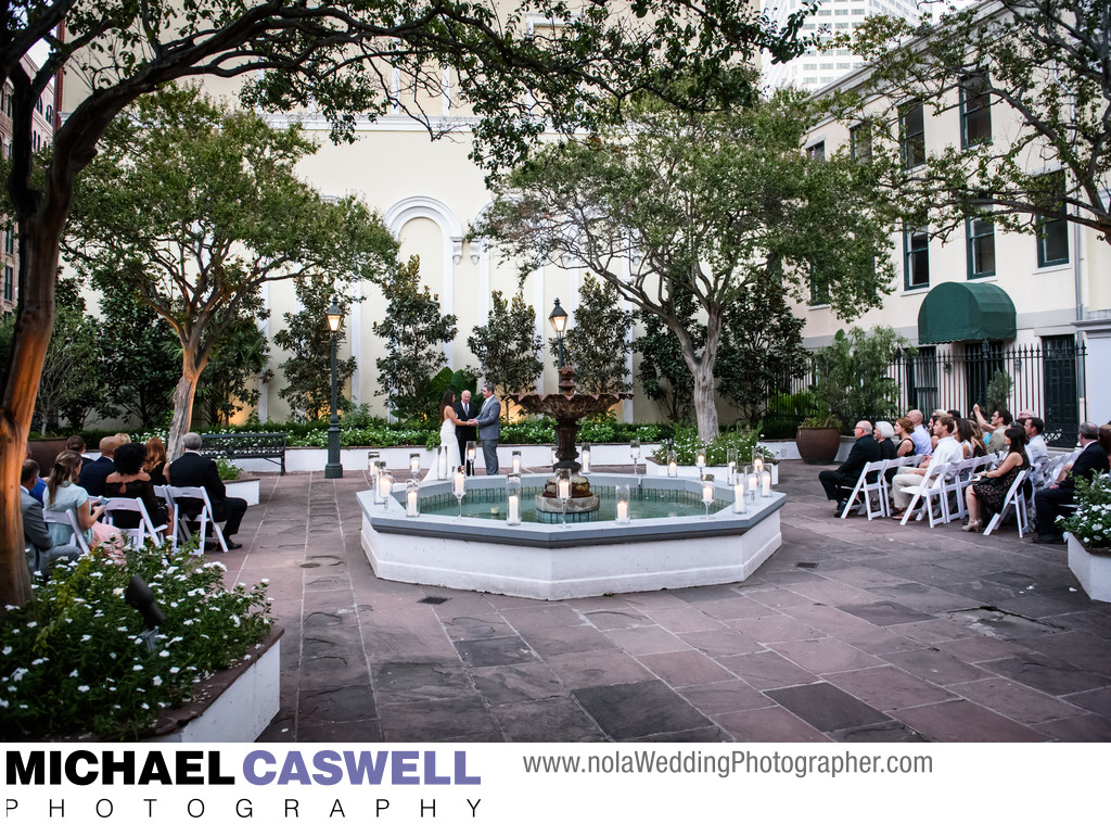 New Orleans Board of Trade Wedding Ceremony