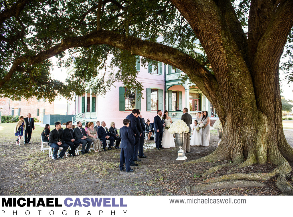 Southdown Plantation Wedding in Houma Louisiana