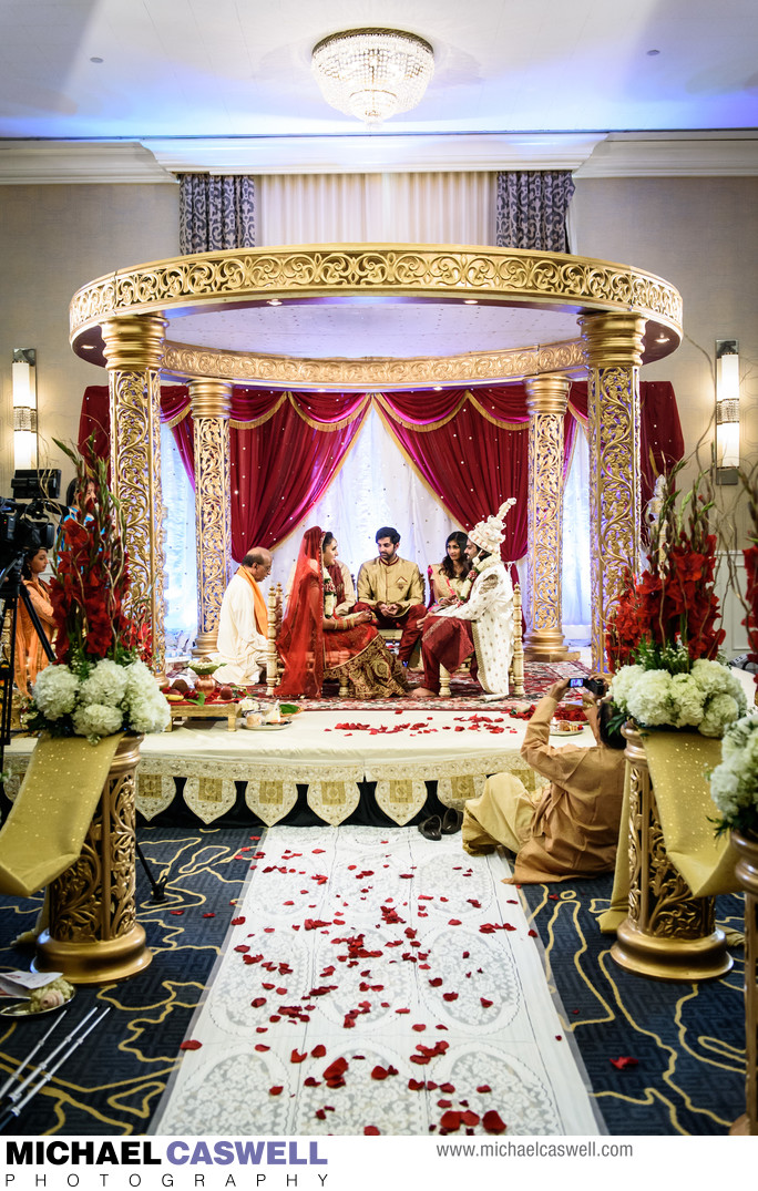 Indian Wedding Ceremony at JW Marriott