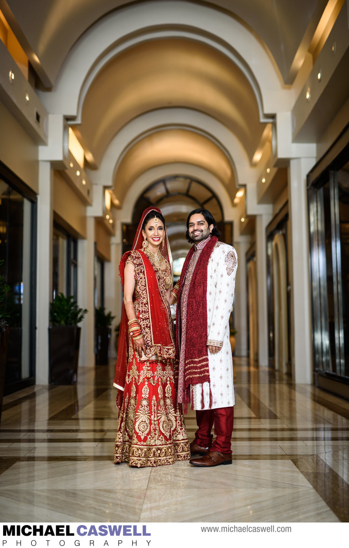 Indian Wedding Portrait at JW Marriott