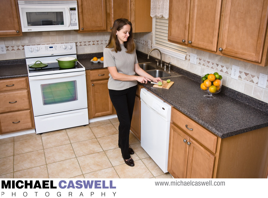 Product photography for kitchen remodeling contractor