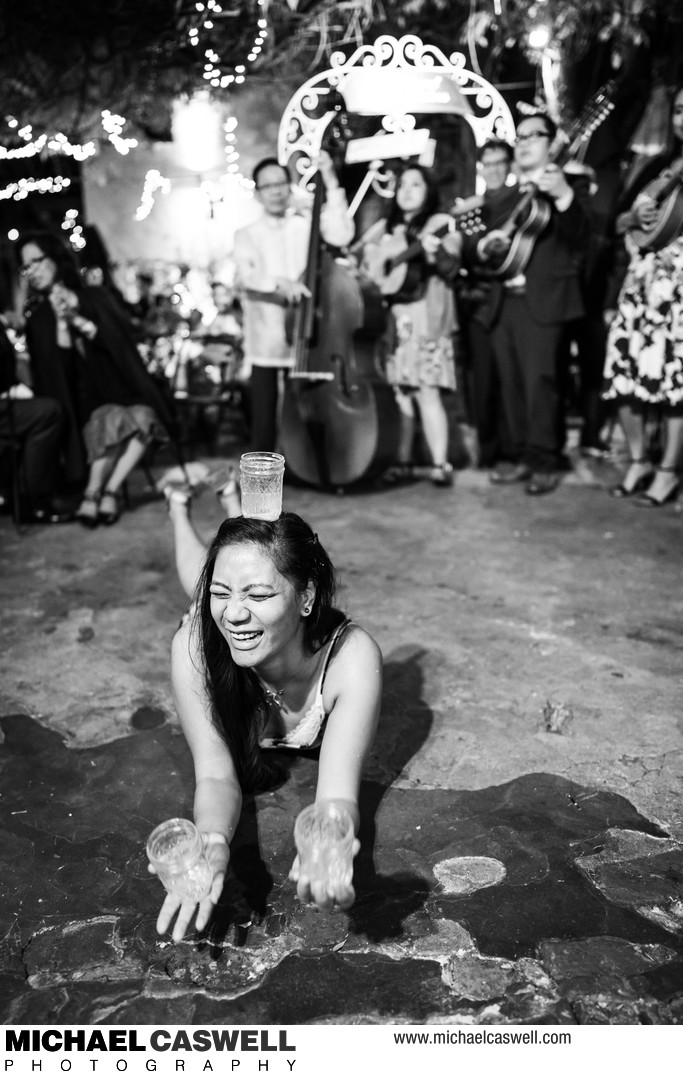 Traditional Pilipino Folk Dances at Wedding in New Orleans