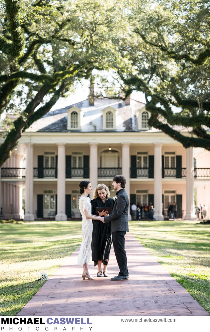 New Orleans Elopement at Oak Alley