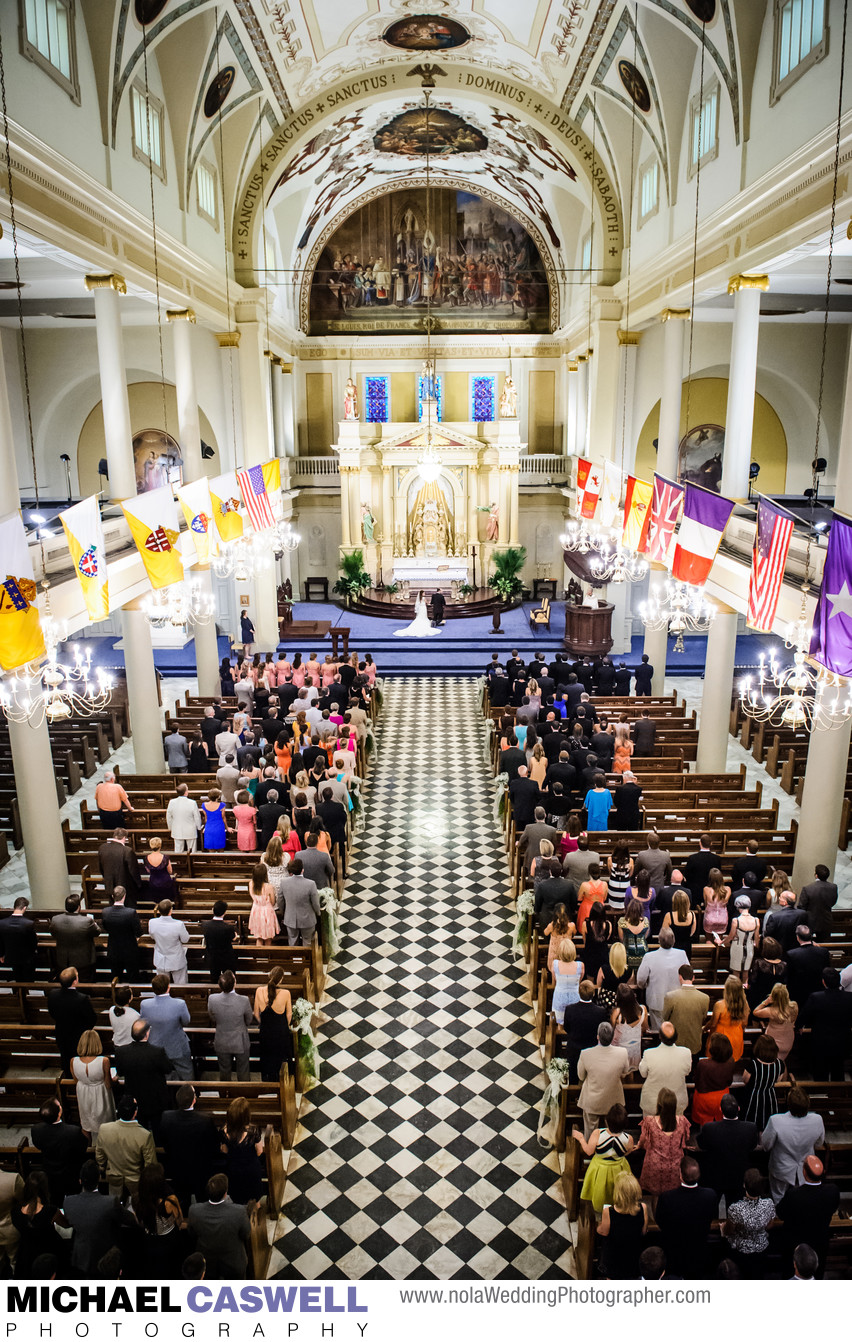 Saint Louis Cathedral Wedding in New Orleans
