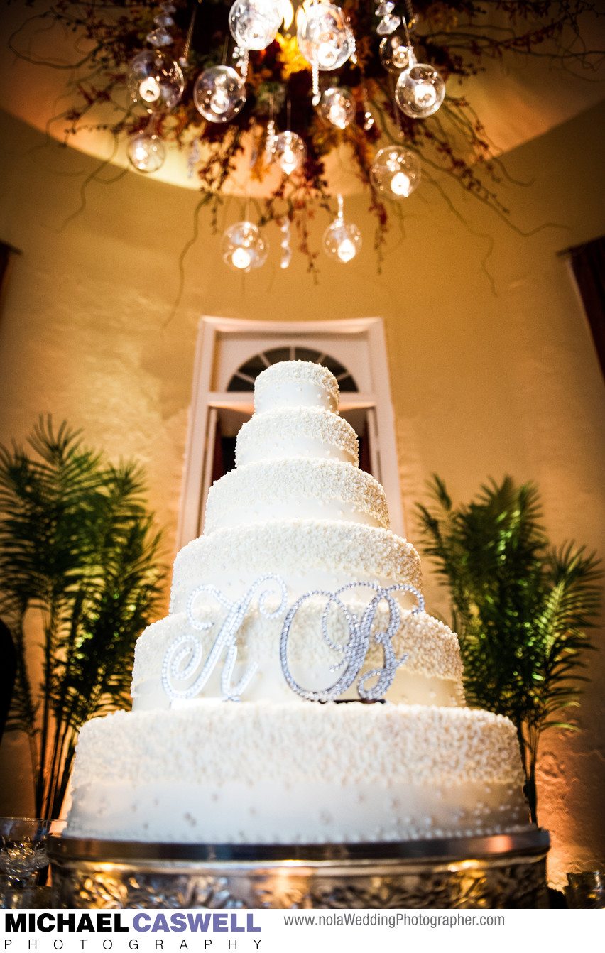 New Orleans Wedding Cake at Latrobes on Royal