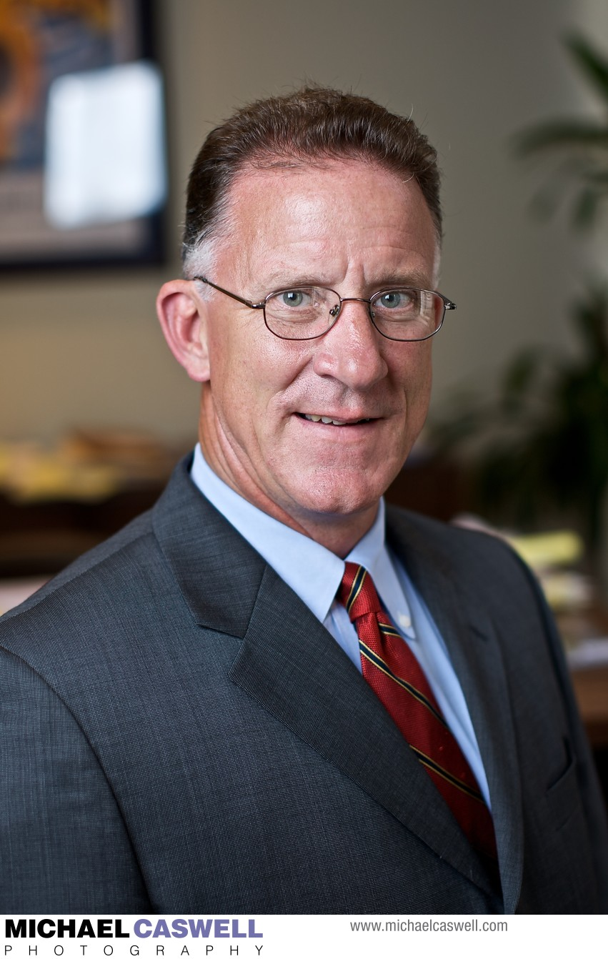 Head shot of a business executive in New Orleans