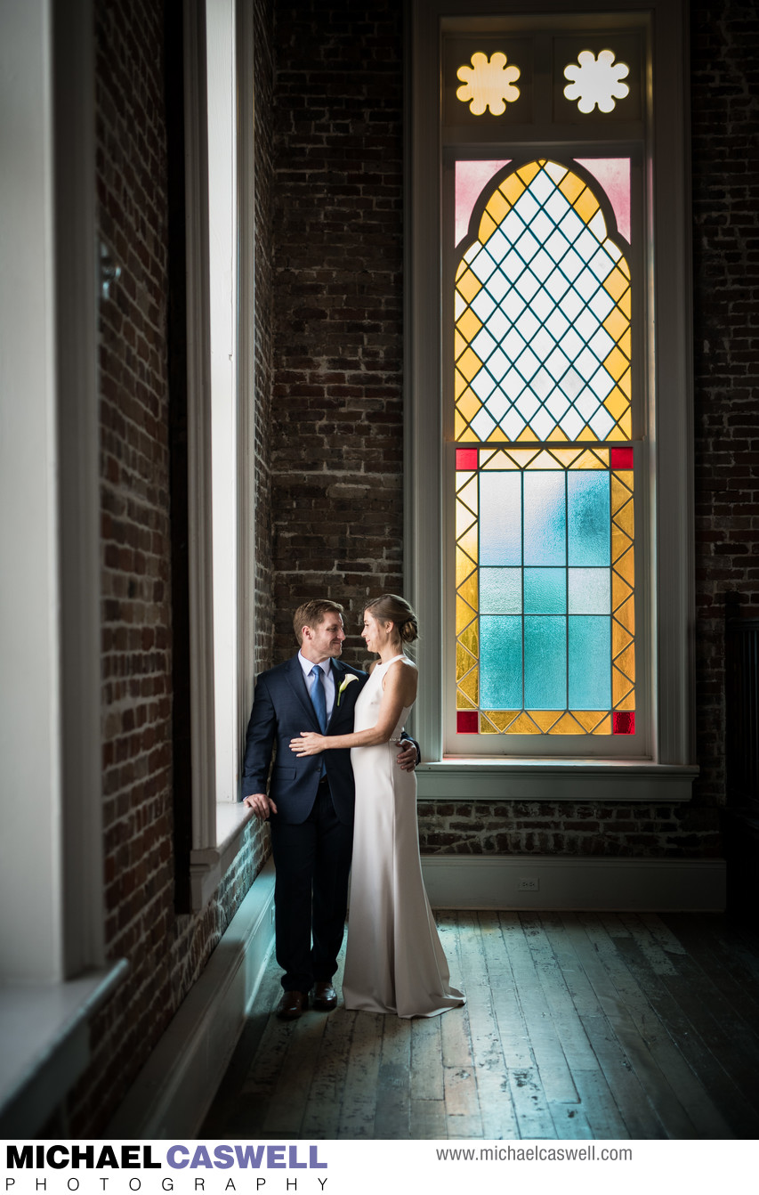 Elopement at Felicity Church in New Orleans