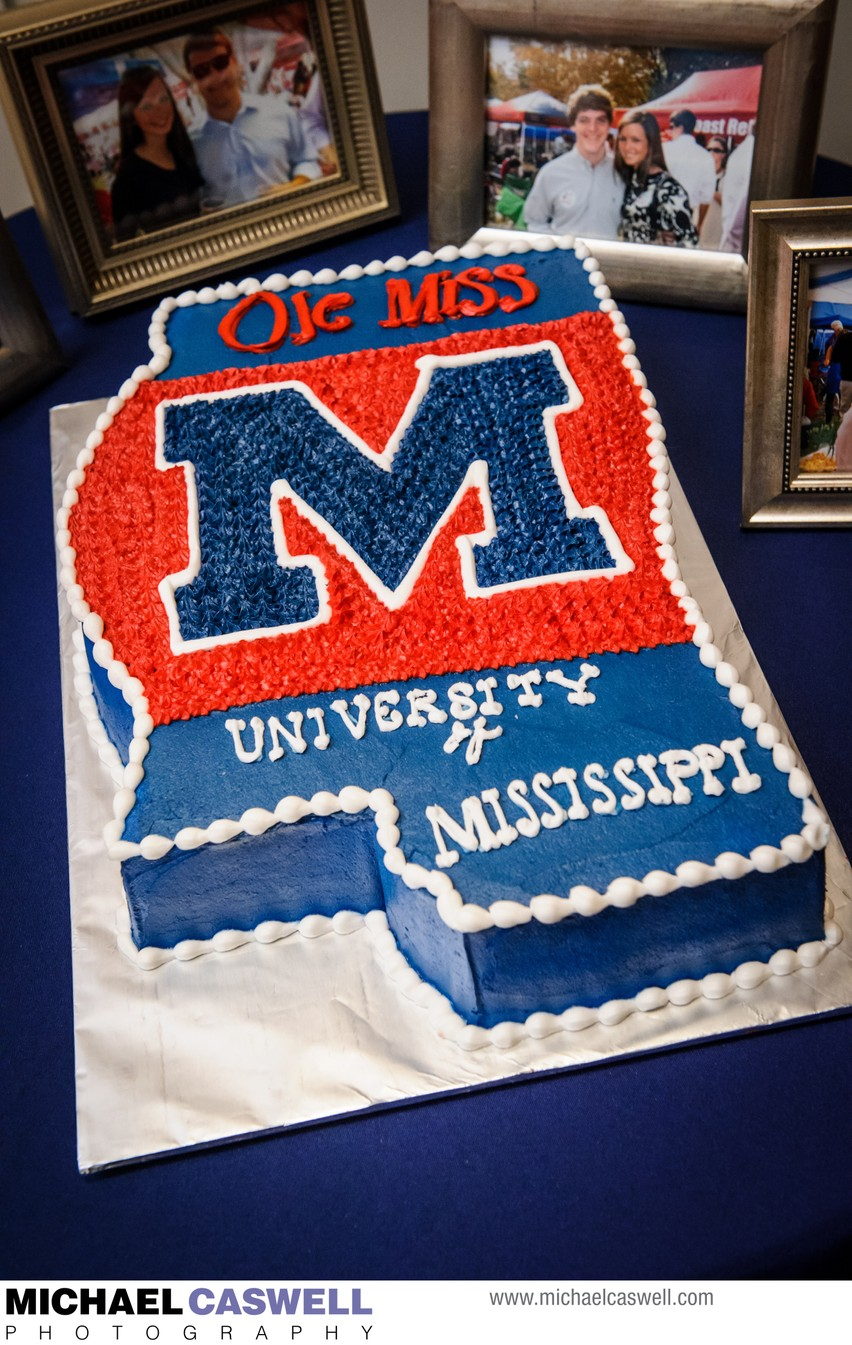 Ole Miss Groom's Cake