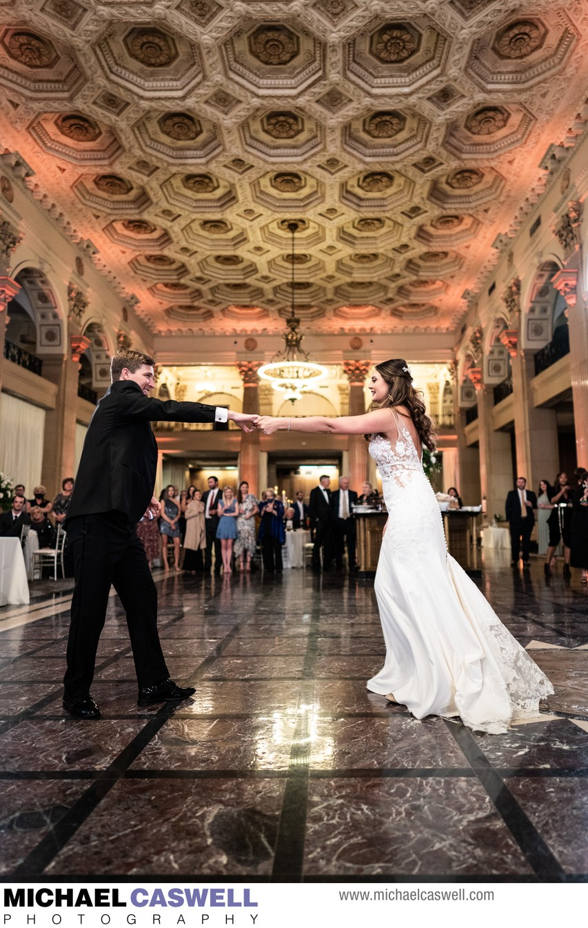 Wedding Reception at The Capital on Baronne
