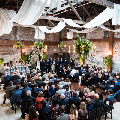 Wedding Ceremony at The Gallery Venue at Tomas Bistro