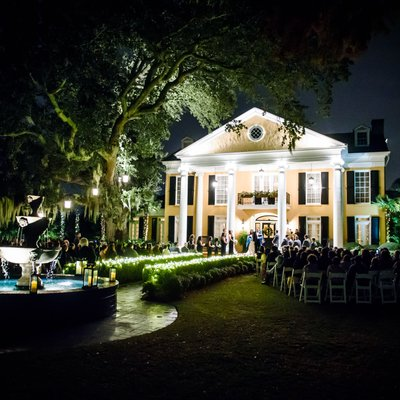 Southern Oaks Wedding Ceremony