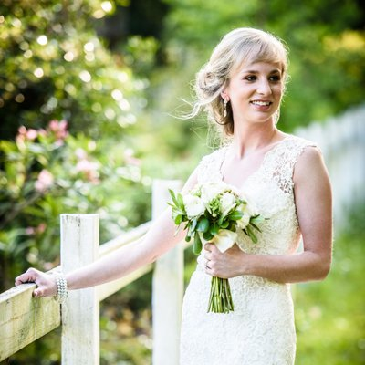 Bridal Portrait at The Old Place in Gautier, MS