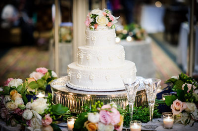 Omni Royal Orleans Wedding Cake