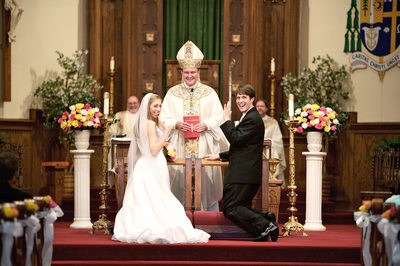 Biloxi Wedding Ceremony at Cathedral Nativity BVM