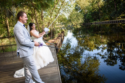 Palmettos on the Bayou Wedding in Slidell Louisiana