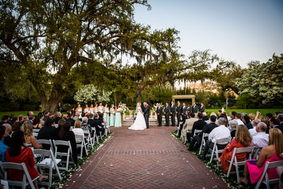 City Park Botanical Garden Wedding Ceremony
