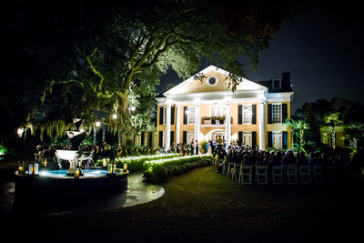 Southern Oaks Plantation Wedding Ceremony