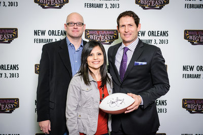 Sports publicity event in New Orleans