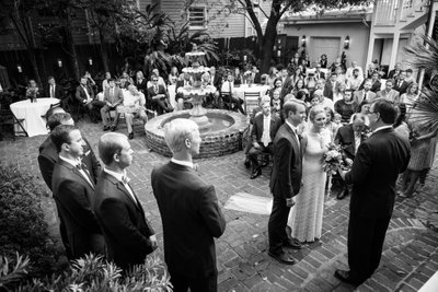 Wedding Ceremony at Terrell House in New Orleans