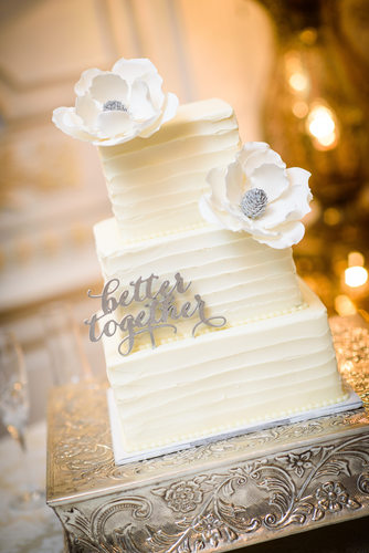 Wedding Cake at the Elms Mansion