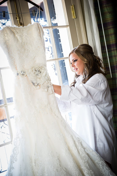 Royal Sonesta Bride with Wedding Dress