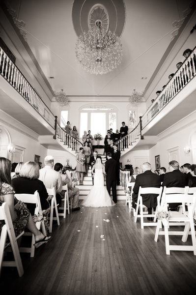 Oak Crest Mansion Pass Christian Wedding