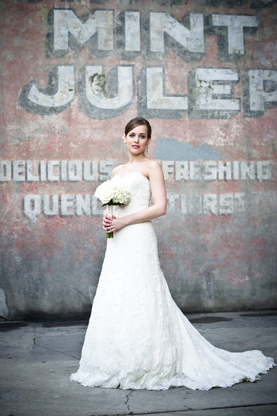 French Quarter Bridal Portrait